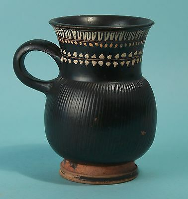 Apulian Black Glazed Gnathia-Ware Mug - Ancient Art & Antiquities.