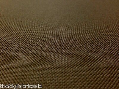 Tough Waterproof Brown Outdoor Canvas Fabric Material Cover Cordura Type!