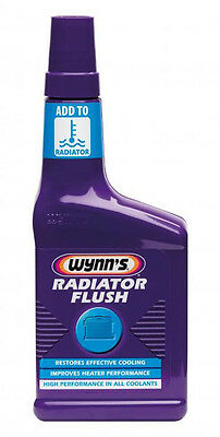 WYNN'S RADIATOR FLUSH Cleaner Improves Car Cooling System Heater Performance