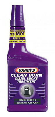 WYNN'S CLEAN BURN Diesel Smoke Treatment Reduces Emissions Lubricates Fuel Pump
