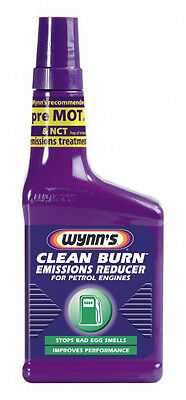 WYNN'S CLEAN BURN Emissions Reducer Stops bad egg smells Improves perfomance