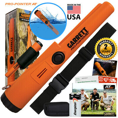 Garrett Pro Pointer AT Pinpointer Waterproof ProPointer with Belt and Holster