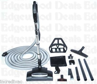 Wessel-Werk Chateau Collection 35 ft Central Vacuum Kit w/ Handheld Power Brush