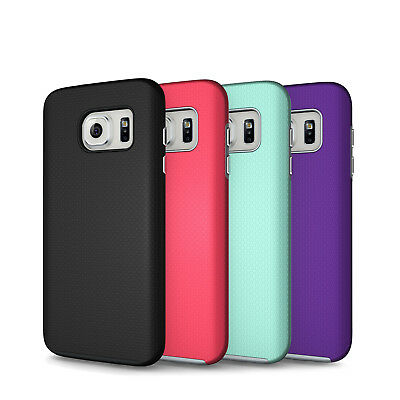 Galaxy S7 Case Hybrid Tough Cute Shockproof Rubber S7 Edge S8 Plus S8+ Cover
