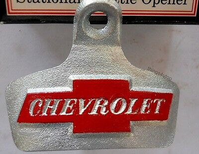 Chevrolet Chevy bottle opener NIB wall mounting #K317