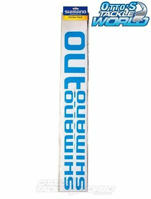 Shimano Sticker Pack BRAND NEW at Otto's Tackle World Drummoyne Sydney