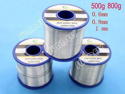 SUNDELY Quick Flow Electrical Solder Wire 500g 800g Reel 2% Grade Tin Lead 63/37