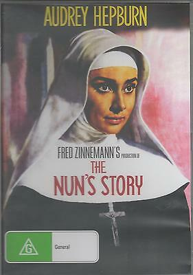 The Nuns Story - Audrey Hepburn   New All Region Dvd