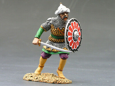 King and (&) Country MK036 - Charging Saracen w/Sword & Shield - Retired
