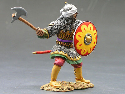 King and (&) Country MK038 - Defending Saracen w/Sword & Axe - Retired