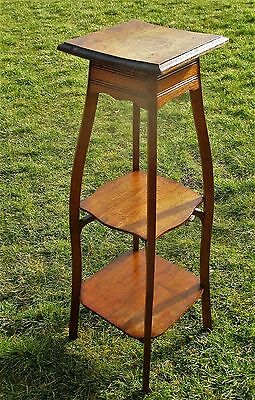"""Large Gorgeous Ornate 3 Tier Pedestal Table Plant Stand Side Table 43.30"""""""