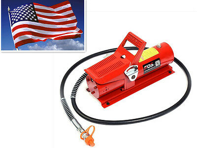 10 Ton Porta Power Hydraulic Air Foot Pump Control Lift Replacement