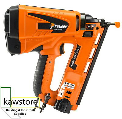 Paslode IM65A Impulse Lithium Second Fix F16 Brad Nailer; Angled; 1 Battery Case