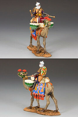 King and (&) Country MK082 - Mounted Camel Drummer - Retired