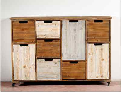 Madia credenza vetrina design shabby chic etnica country for Credenza industriale