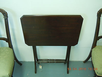 Antique Carriage or Folding Side Table.