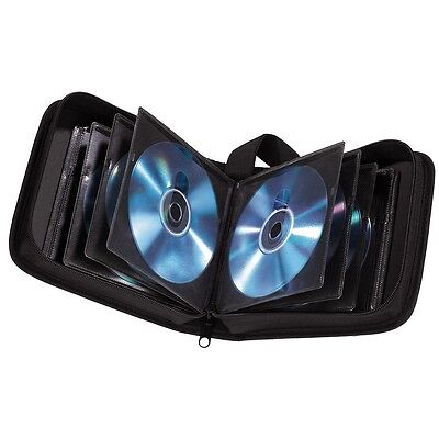 20 Space CD DVD Blu Ray Disc Carry Case Holder Bag Wallet Protector Storage