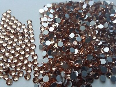 Swarovski Champagne Crystals Non Hotfix Rhinestones for Nail Art Decoration