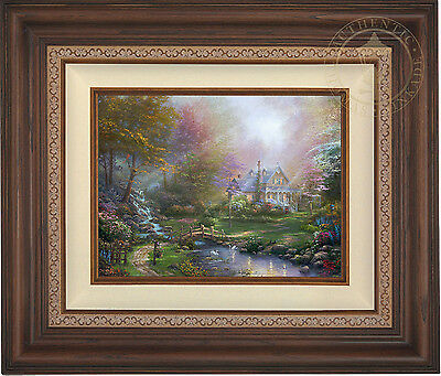 Thomas Kinkade A Mother's Perfect Day 12 x 16 Limited Ed G/P Canvas Framed