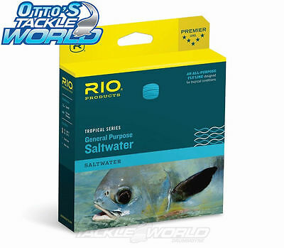 RIO Saltwater F/I General Purpose Fly Line (Tropical Series) in Sea Grass colour