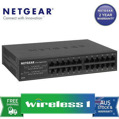 NETGEAR GS324 - SOHO 24-port Gigabit Unmanaged Switch