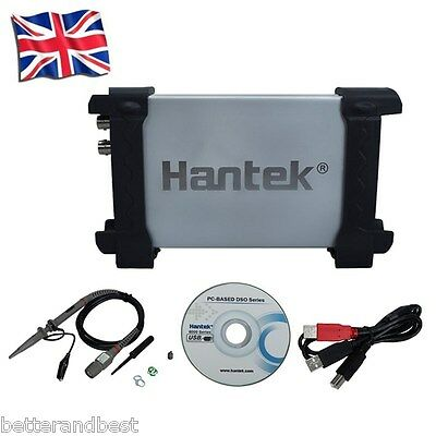 HANTEK 6022BE PC USB 2CH Digital Oscilloscope 20Mhz 48Msa/s 1M Byte/CH Bandwidth