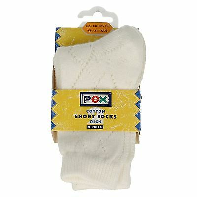 Girls PEX Patterned 'Short Socks'