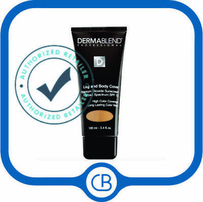 Dermablend Leg and Body Cover MEDIUM NATURAL FORMERLY Suntan( 3.4 fl oz (100 ml)