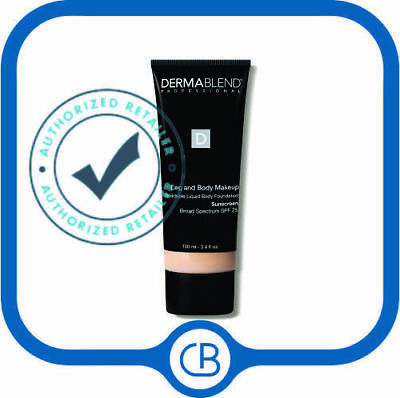 Dermablend SPF 15 Leg And Body Cover 'IVORY' 3.4 oz / 100 ML *NEW IN BOX*
