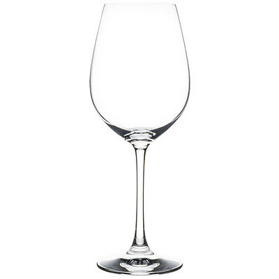 Set of 12 NEW Spiegelau Beverly Hills Burgundy Wine Glasses Lead Free Crystal