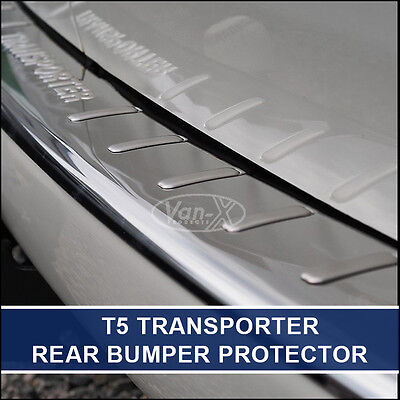 "Rear Bumper Protector for VW T5 Transporter Stainless Steel ""NEW"" Van-X"