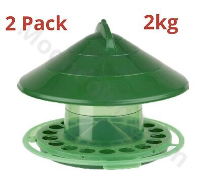1kg Hanging Feeder For Cage/Aviary Pigeons / Lovebirds/ Chicken/ Finches/ Birds