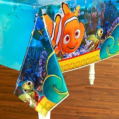 Finding Nemo Birthday Party - Nemo Plastic Party Tablecover