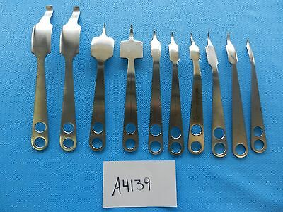 Zimmer Aesculap Surgical Orthopedic Hohmann Retractor Set