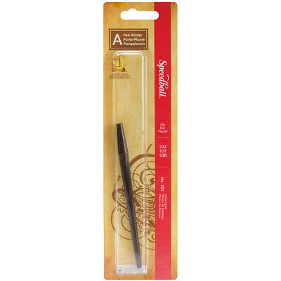 Speedball Crow Quill Penholder Black SPE182