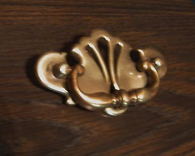 Lot of 4=VINTAGE BRASS SWINGING BAIL DRAWER HANDLES PULLS