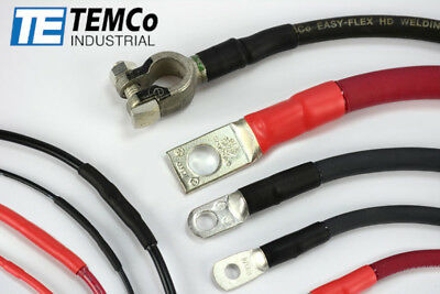 TEMCo Industrial HD Marine Heat Shrink Tube 3:1 Adhesive Glue Lined 12 in long