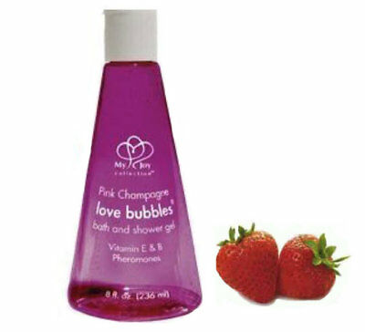 Pink Champagne Love Bubbles Sensual Strawberry 236ml