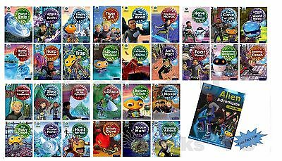 NEW Oxford Reading Tree Project X Book Collection Set Level  7-11 RRP £154.90