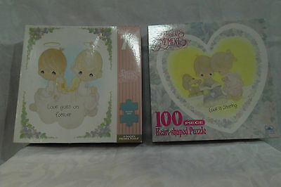 Precious Moments Puzzle Lot of 2 vintage unopened sealed