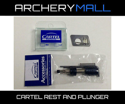 Cartel Supra Cushion Plunger Black with arrow rest