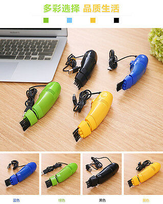 Mini Vacuum USB Computer Keyboard Cleaning Dust Cleaner Brush for Laptop PC