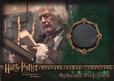 Harry Potter Sorcerers Sorcerer's Stone Wand Box Prop Card.