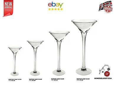 Martini Vase Glass Wedding Table Centrepiece And Home Decor-Westmidlands
