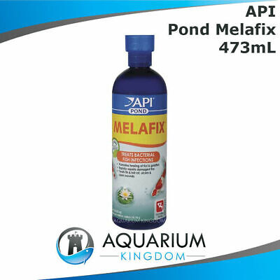 API PondCare Melafix 473mL Treats Bacterial Infection Goldfish/Koi Pond Medicine