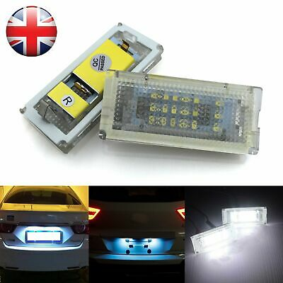2X LED License Number Plate Light Lamp FOR Mercedes Benz W204 W221 W212 W216