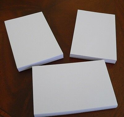 "Refill Note Paper  - Loose Sheets - 3"" x 5 "" 100 Sheets * Lot of 3*"