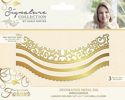 Sara Davies Together Forever Signature Craft Collection - Indulgence Die