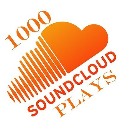 1000 Soundcloud Plays to your Soundcloud Track within 24 hours