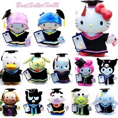 "14"" Authentic Sanrio Characters Graduation Gift Plush Doll Stuffed Toy"